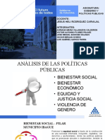 ANALISIS DE LAS POLITICAS PUBLICAS