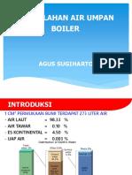 2. Pengolahan Air umpan boiler