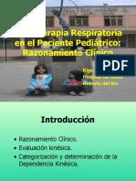 Kinesiterapia Respiratoria en el Paciente Pediátrico.Razonamiento clínico