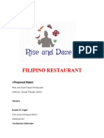rise and daze restaurant