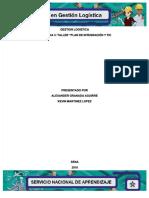 """[PDF] Gestion Logistica Evidencia 3_ Taller """"Plan De Integración Y Tic_compress"""