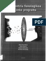 Kontzientzia Fonologikoa Lantzeko Programa