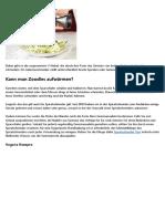 319127Diese Vorteile überzeugen jeden von Zucchini Nudeln Gerät -- Neu