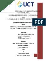 Libro Diario de Operaciones Contables de Coopac