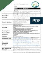 alexis jones - lesson plan template - 2648614
