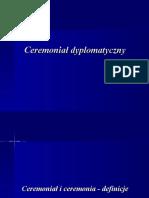 Ceremoniał dyplomatyczny po edycji