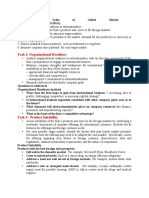 global marketing opportunities correct notes