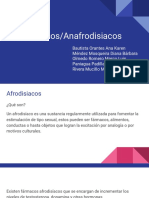 Afrodisiacos/Anafrodisiacos
