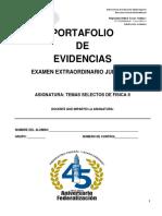 TEMAS SELECTOS DE FÍSICA II