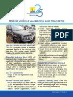 MV VALIDATION AND TRANSFER