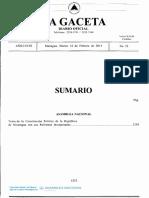 Constitución Politica con sus reformas incorporadas 2014