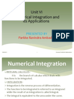 Numerical Integration PPT PRA