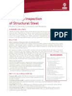 BV Service Sheet_In Shop_Steel Inspection