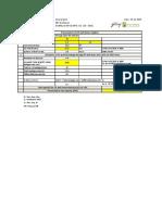 R0 Pressurisation Calculation 2019.11.26
