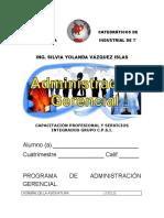 GUIA DE ADMINISTRACION GERENCIAL