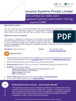 ISO 14001 Lead Auditor Training Brouchre-EAS