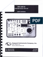 3. Operation Manual - Secondary Injection Set - RFD 200 S3