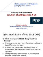 AM Q64 by Dr. Nasima Begum