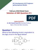 AM Q5 by Dr. Md. Nawab Yousuf Ali