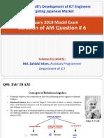 AM Q6 by Md. Zahidul Islam