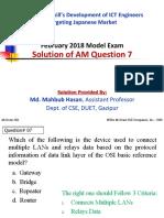 AM Q7 by Md. Mahbub Hasan
