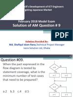 AM Q9 by Md. Shafiqul Islam Rana