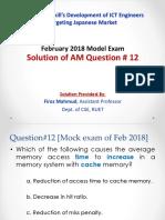 AM Q12 by Firoz Mahmud