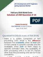AM Q14 by Firoz Mahmud
