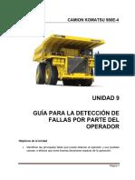 UNID_9_GUÍA PARA DETECCIÓN DE FALLAS_Camion Komatsu 980E_enero 2018