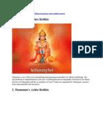 HANUMAN Ashta Siddhi Mantra