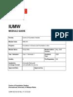 Study Skills Module Guide
