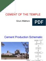 Cement Production Schematic