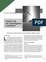 ACERCA DE LOS PARADIGMAS CONTABLES (1)