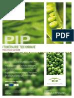 Itinéraire Technique - Pois (Pisum Sativum) - PIP 2009 - 1,61 Mo (1)