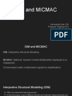 ISM and MICMAC