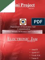31753289 Mini Project Electronic Jam