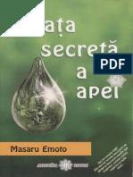 M.Emoto - Viaţa secretă a apei [8zC].pdf