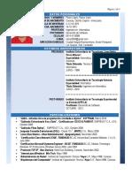 RATZAR PEREZ - Curriculum Resumido - Abril 2020