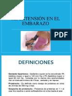 TRANSTORNOS HIPERTESIVOS EN EL EMBARAZO