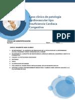 Caso clínico de patología cardiovascular tipo Insuficiencia Cardiaca Congestiva