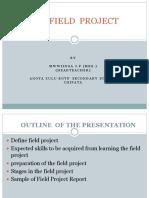 FIELD WORK PRESENTATION-MWIINGA JPpptx