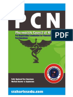 Pharmacists Council of Nigeria PCN Past Questions PDF Download