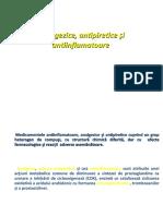 Farmacologie curs 11 Antiinflamatorii antipiretice