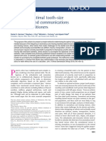 tooth size communication.pdf