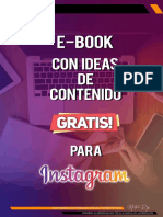 E - BOOK GRATIS DE MAS DE 30 IDEAS DE CONTENIDO PARA INSTAGRAM