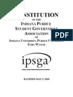 IPSGA Constitution