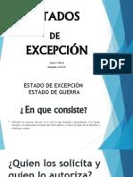 ESTADOS DE EXCEPCIÓN (1)
