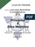Princípios e Ética Maçônica - Ir Pucci