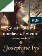 Susurrale mi nombre al viento (Hermanos McGregor 3)- Josephine Lys