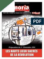 Les Hauts Lieux Sacrés de La Révolution Algérienne